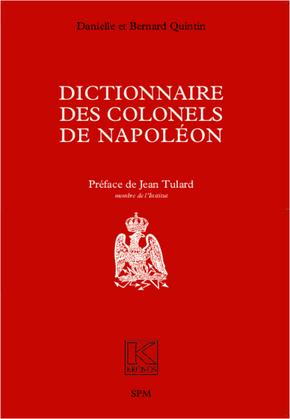 Dictionnaire des colonels de Napoléon