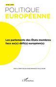 Les parlement des état membres face au(x) défi(s) européen(s)