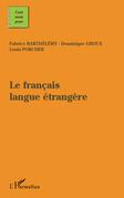 Le français langue étangère