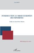 Introduction au droit européen des minorités