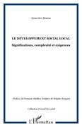 Le développement social local - significations, complexité e