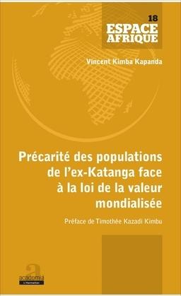 Précarité des populations de l'ex-Katanga face à la loi de la valeur mondialisée
