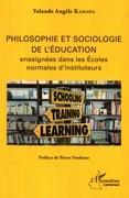 Philosophie et sociologie de l'éducation enseignées dans les écoles normales d'instituteurs