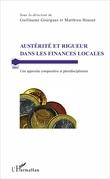 Austérité et rigueur dans les finances locales