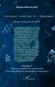L'Afrique, berceau de l'écriture volume 2