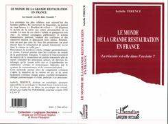 Le monde de la grande restauration en France