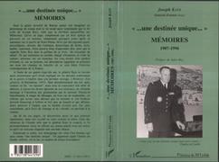 """""""... une destinée unique..."""" Mémoires 1907-1996"""
