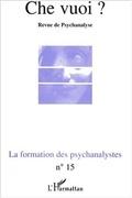 LA FORMATION DES PSYCHANALYSTES