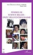 Femmes de sciences belges: onze vies d'e