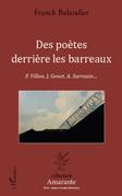 Des poètes derrière les barreaux