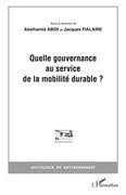 Quelle gouvernance au service de la mobilité durable?