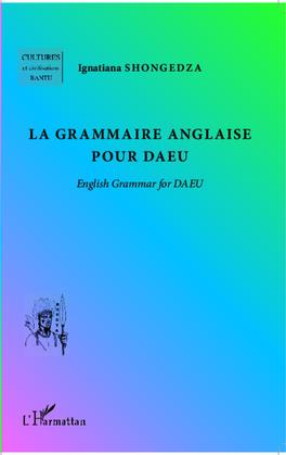 La grammaire anglaise pour daeu - englis