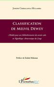 Classification de melvil dewey - modèle pour une bibliothéco