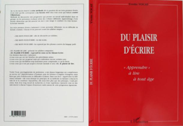 DU PLAISIR D'ÉCRIRE