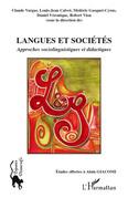 Langues et sociétés - approches sociolinguistiques et didact