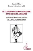 De l'exploration du multilinguisme dans villes africaines