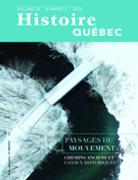 Histoire Québec. Vol. 25 No. 4,  2020