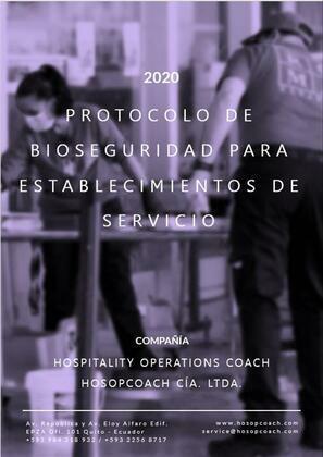 Protocolo de Bioseguridad para establecimientos de servicio