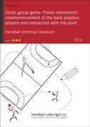 Small group game: Piston movement/countermovement of the back position players and interaction with the pivot (TU 6)
