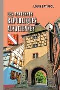 Les anciennes Républiques alsaciennes
