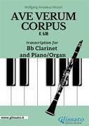 Ave Verum Corpus - Bb Clarinet and Piano/Organ