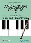 Ave Verum Corpus - Oboe and Piano/Organ