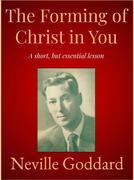 The Forming of Christ in You