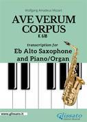 Ave Verum Corpus - Eb Alto Sax and Piano/Organ