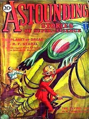 Astounding Stories of Super-Science, Volume 8