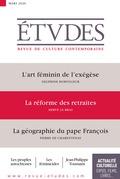 Revue Etudes - La réforme des retraites