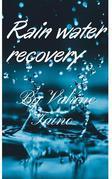 Rainwater recovery