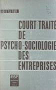Court traité de psycho-sociologie des entreprises