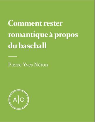 Comment rester romantique à propos du baseball