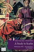 Sherlock Holmes' a Study in Scarlet (English + French Interactive Version)