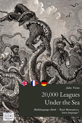 20,000 Leagues Under the Sea (English + French + German Interactive Version)