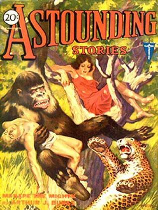 Astounding Stories of Super-Science, Vol 18