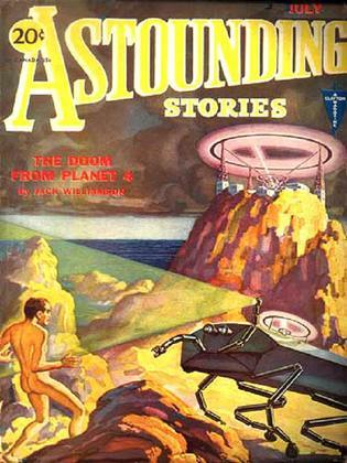 Astounding Stories of Super-Science, Vol 19