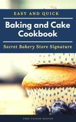 Baking and cake cookbook
