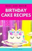 Birthday Cake Recipes