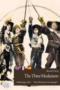 The Three Musketeers (English + French + Spanish + Italian Version)
