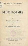 Deux poèmes : Souliers sans maître