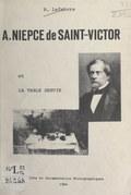 """A. Niepce de Saint-Victor et """"La table servie"""""""