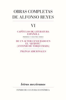 Obras completas, VI Capítulos de literatura española, De un autor censurado en el Quijote, Páginas