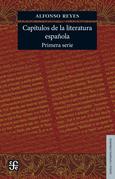 Capi?tulos de literatura española