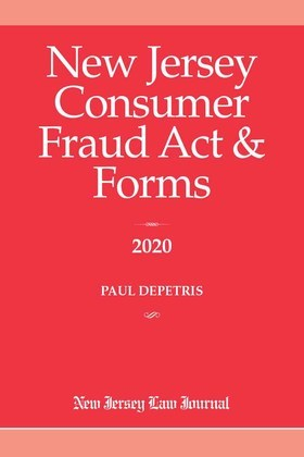 New Jersey Consumer Fraud Act & Forms 2020
