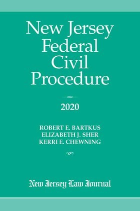 New Jersey Federal Civil Procedure 2020