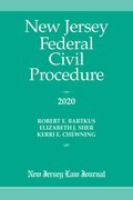 New Jersey Federal Civil Procedure 2020