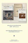 Jésuites et littérature (XIXe-XXesiècles)
