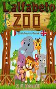 L' alpabeto zoo. Bilingual Children's Book. Italian-English.