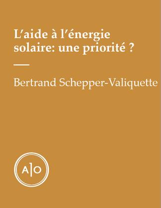 L'aide à l'énergie solaire: une priorité?